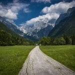 slovenian mountain trail