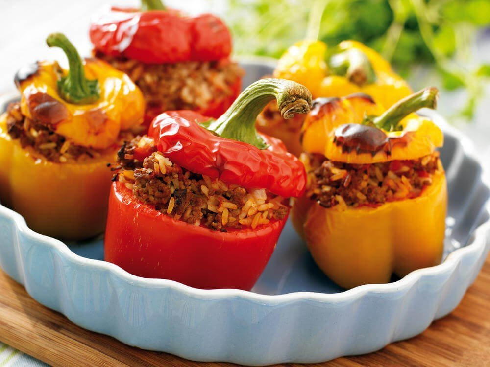 balkan stuffed peppers