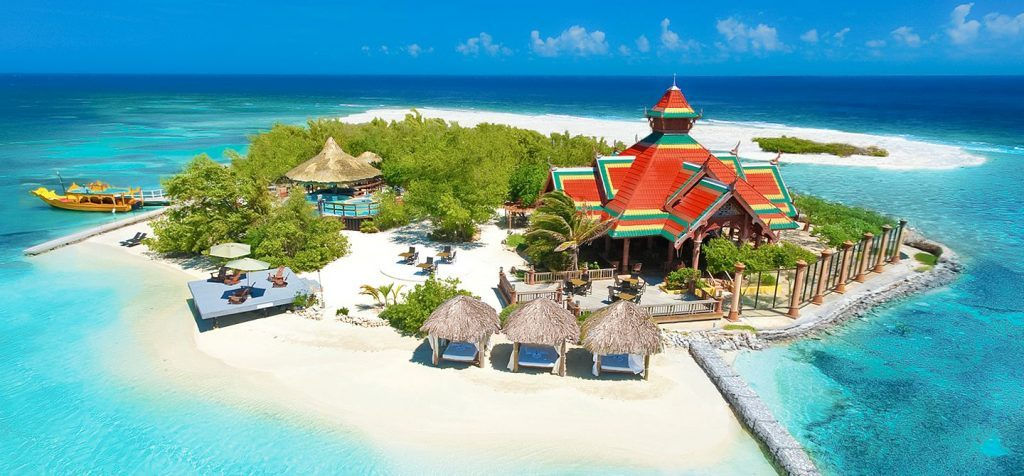 sandals resorts with private pools