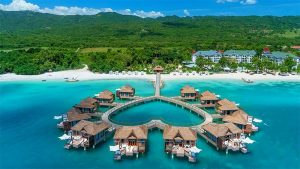 Sandals Resorts with overwater bungalows